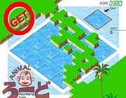 animal maze making game