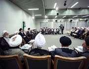 le guide suprême de la révolution islamique a reçu les membres de l'assemblées des experts