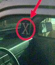 نماد x و مفاهيم آن
