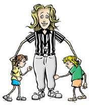 the referee mom