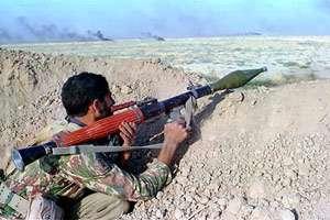 آخرین عکس رزمنده ای در محاصره دشمن