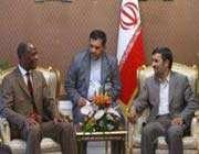 le président iranien et le président du parlement national