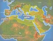 l'empire ottoman vers la fin du 17ème siècle