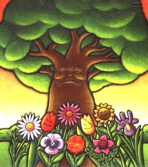 به دست خود درختی می نشانم