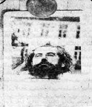 la tête de mirza koutchak khan