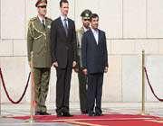 les présidents iranien et syrien