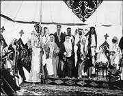 le conseil de guerre de faisal al-saoud en 1926