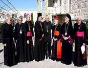 les représentants chrétiens en terre sainte