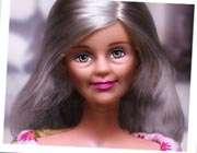 عروسک باربي در کهولت سن
