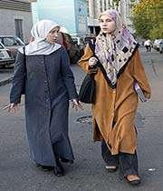 deux femmes musulmanes