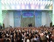 rencontre du guide suprême avec des milliers de religieux et d'étudiants étrangers à qom