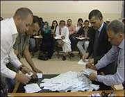 فرز الاصوات في الأردن