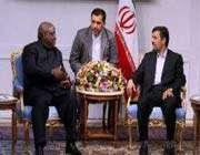 le président iranien reçoit le président du parlement congolais