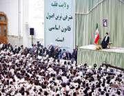 rencontre avec les étudiants et les professeurs des centres d'enseignement islamique de qom