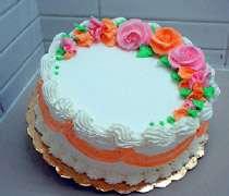 کیک وانیلی
