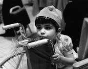 un enfant handicapé