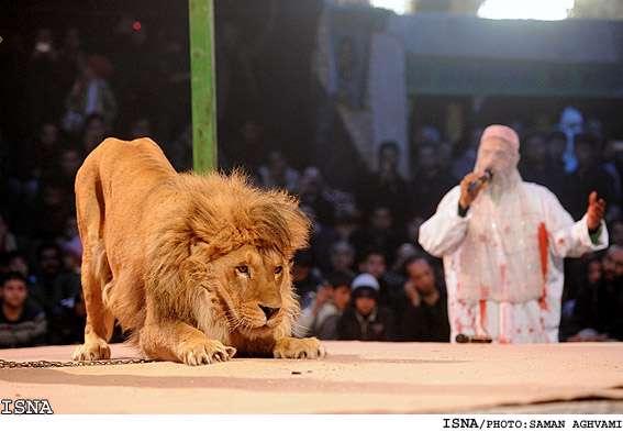 Image result for تعزیه قودجان خوانسار
