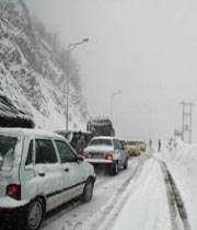 بارش برف مخرب در اروپا