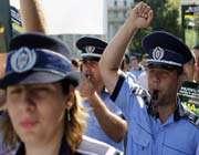 manifestation de policiers