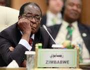 le président du zimbabwe robert mugabe