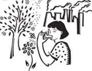 آسم، گلوی کودکان را میفشارد