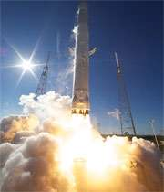 مراحل پرتاب موشک فالکون به همراه کپسول دراگون