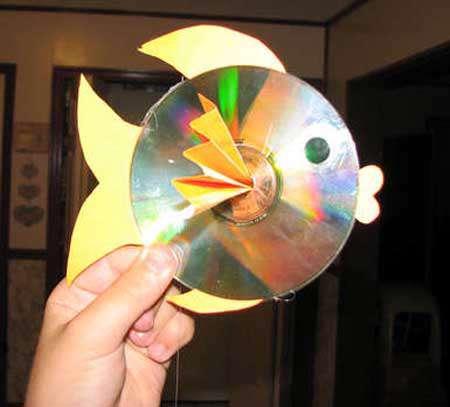 یک ماهی از جنس سی دی