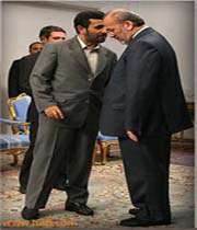 دکتر احمدی نژاد و متکس