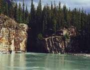 l'eau de la rivière