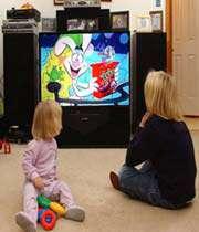 التلفزيون و الأطفال