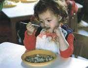 التنظيم الغذائي للأطفال