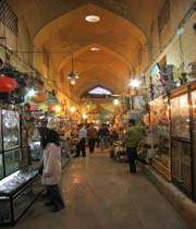 vakil bazaar, shiraz