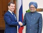 signature de 30 accords entre l'inde et la russie