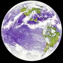 چرا امواج فروسرخ برای تصویر برداری زمین استفاده میشود؟