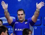 بهداد سلیمی وزنه بردار ایران
