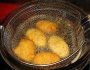 سرخ کردن غذا