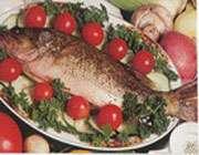 блюда из рыбы и арахиса