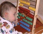 کودکان ابتدا ریاضی را می¬آموزند سپس حرف زدن را !