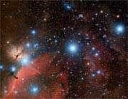 سحابی شعله و ستارگان جبار