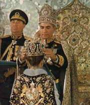 la famille pahlavi