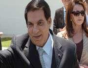 le président déchu ben ali et son épouse leïla trabelsi en mai 2010
