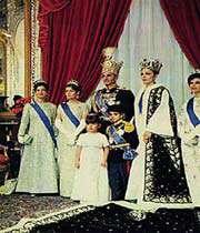 la dynastie pahlavi