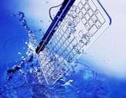 کیبورد شیشه ای ضد آب