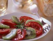 salade de kiwis et tomates