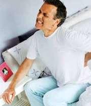 کمردرد هنگام بلند شدن از خواب
