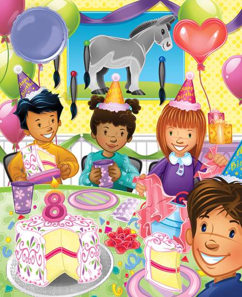جشن تولد مهرنوش كوچولو