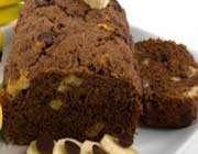 gâteau léger chocolat et banane