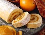 رولت زردآلو و پرتقال