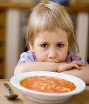 mon enfant ne mange pas!
