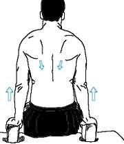 ورزشی برای رفع قوز پشت